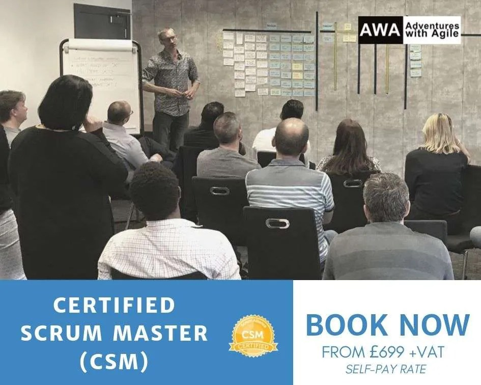 certified scrum master training london