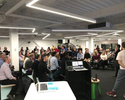 people at an AWA meetup