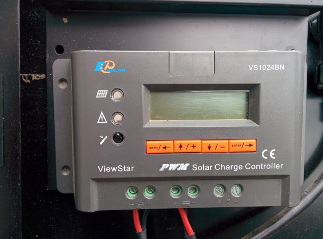 The Included PWM Charge Controller