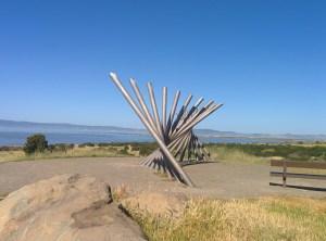 Rising Wave Sculpture Close Up
