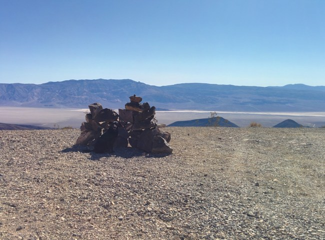 The Extensive Cairn Near the End of the Road