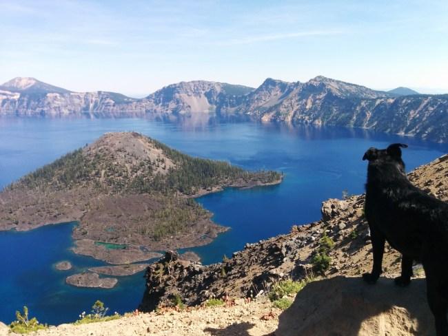 Looking Down On Wizard Island