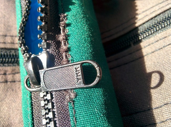 Quality YKK zipper
