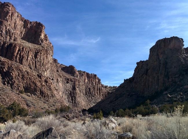 The View Back towards diablo canyon