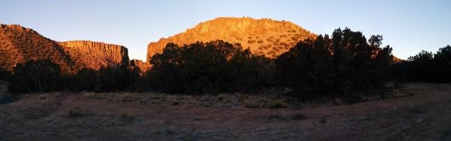 sunrise partial panorama