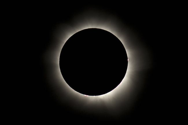 Someone Else's Picture of the eclipse