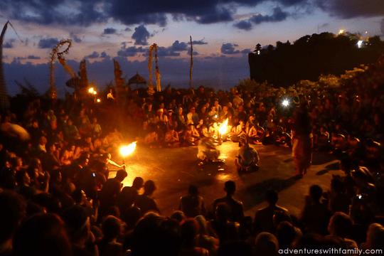 Uluwatu Kecak Dance  Jimbaran Bay  Adventures with Family