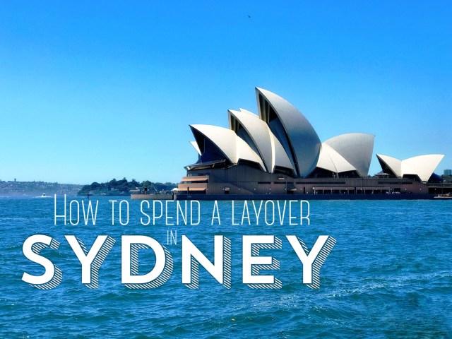 Sydney layover