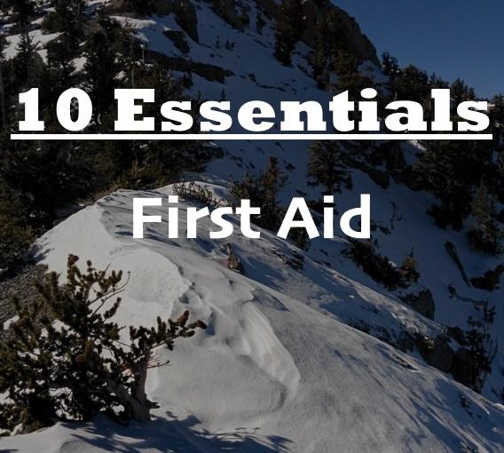 First Aid – 10 Essentials
