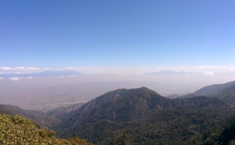 Santiago Peak above the Clouds