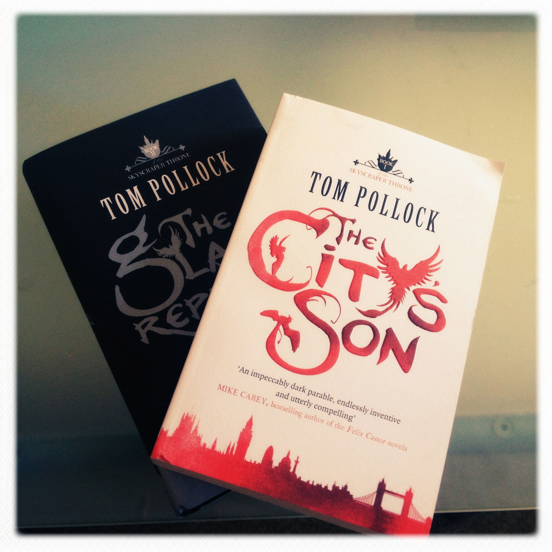 #UKYADay Review: The Glass Republic by Tom Pollock