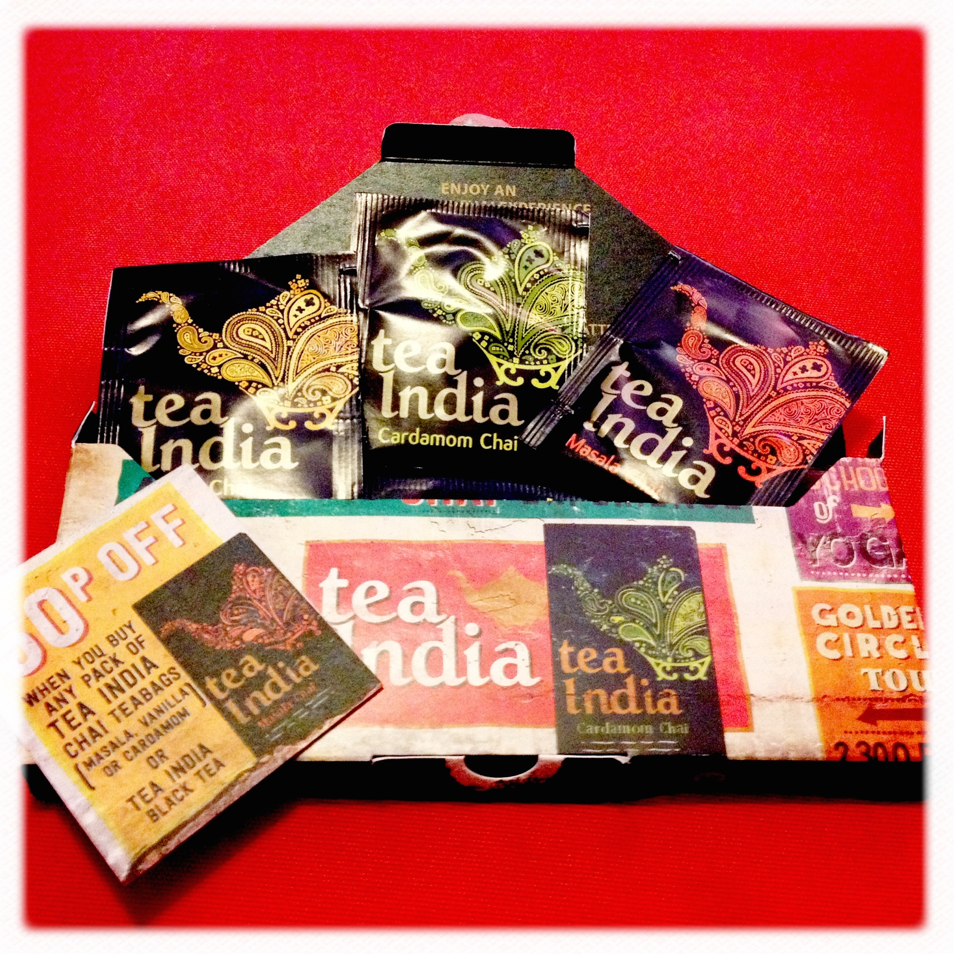 Tea India - perfect reading accessory?