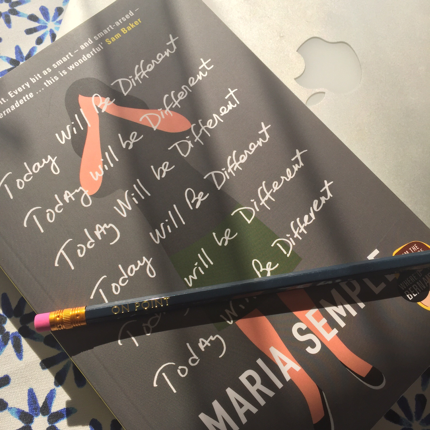 Today Will Be Different: Maria Semple blog tour