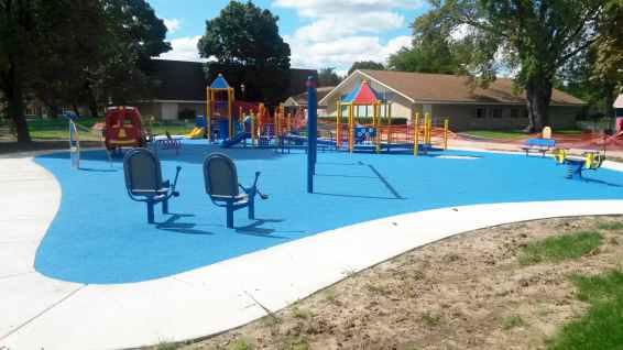 Handicap Accessible Playgrounds Adventureturf Installers