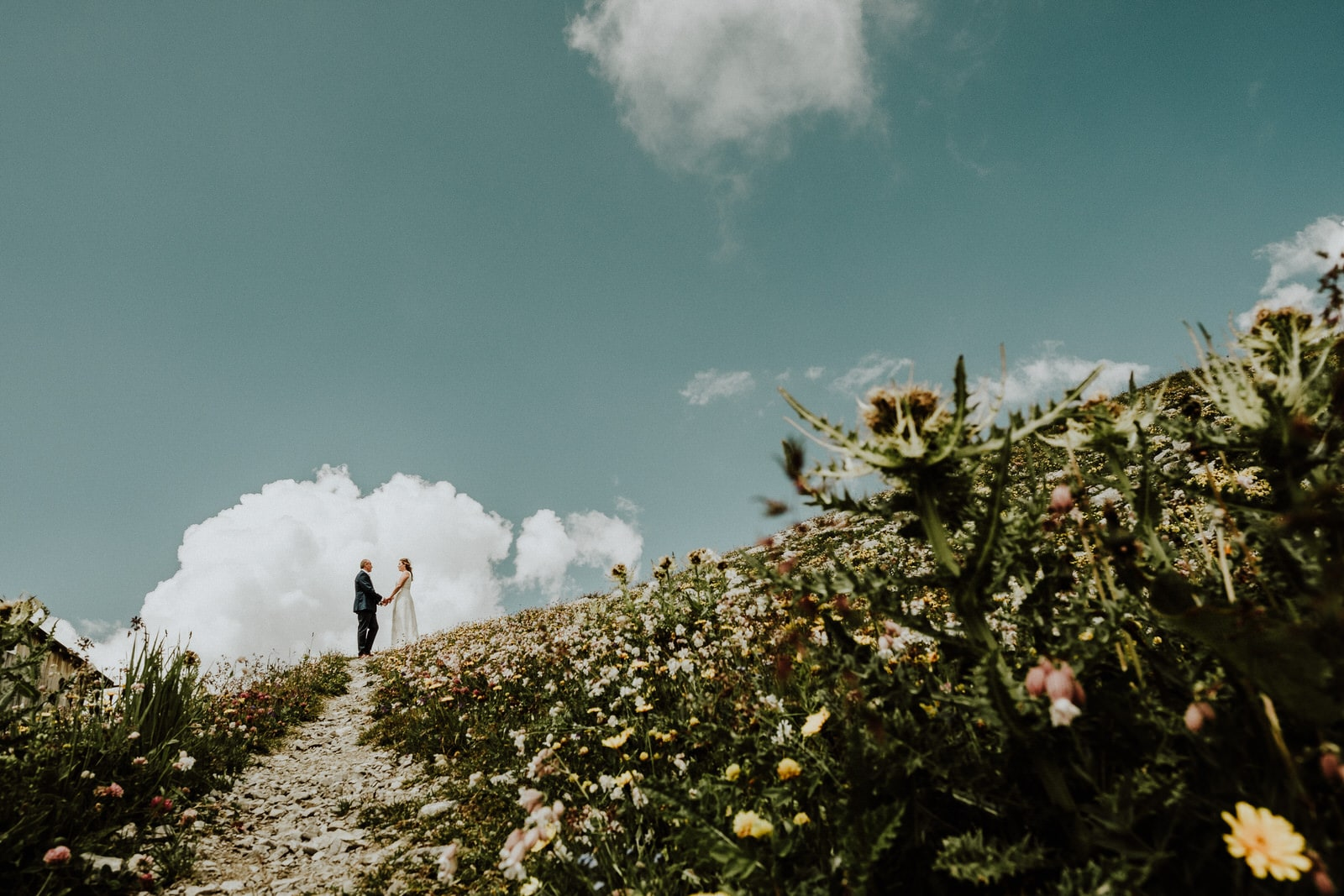 After-wedding shoot in Lech Austria by Wild Connections Photography