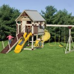 Kid S Swing Sets Vinyl Playsets Swing Sets Playsets For Kids
