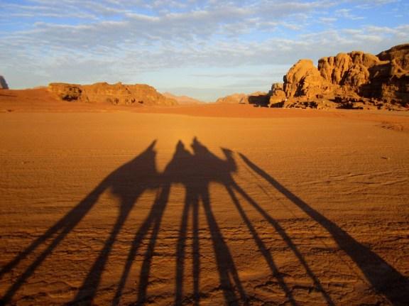 Wadi Rum at Sunrise
