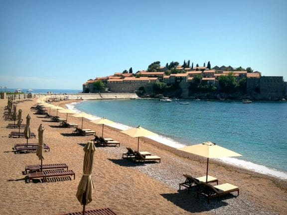 Aman Sveti Stefan Beach