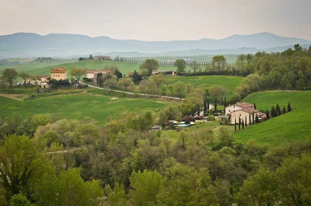 Beautiful Tuscany The Val dOrcia  Adventurous Kate
