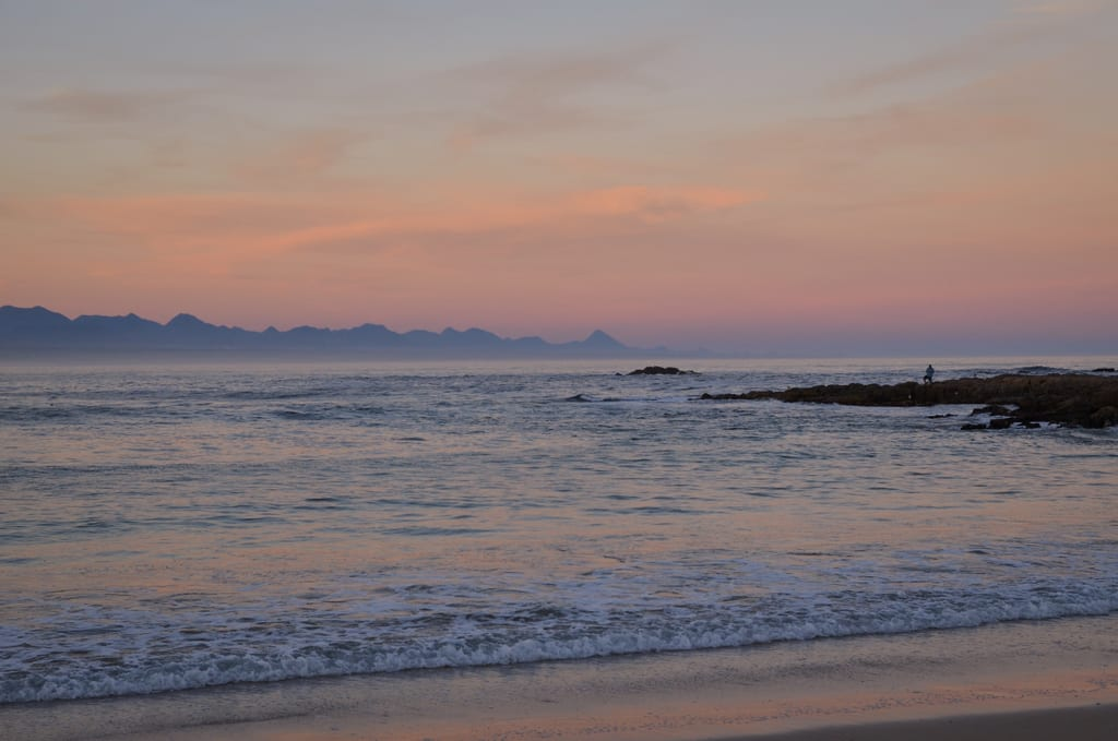 Sunset in Plettenberg Bay
