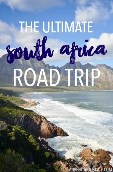 The Ultimate South Africa Road Trip Itinerary