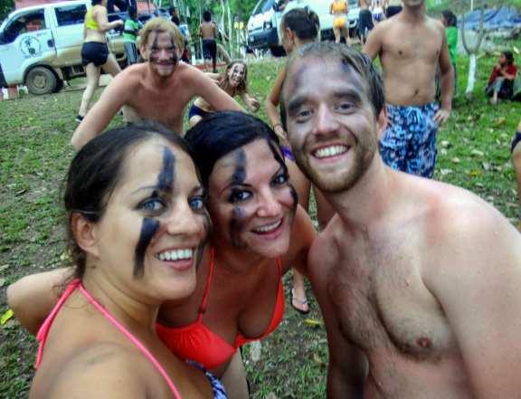 Kate, Erisa and Shaun at Semuc Champey