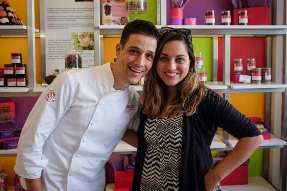 Chef Yigit Pura and Kate