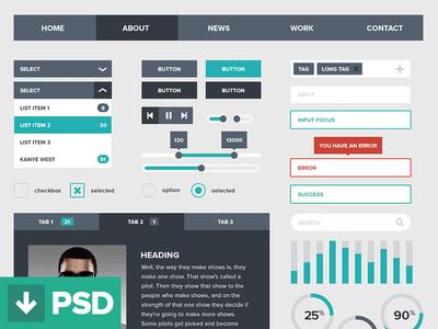 flat-ui-kit-web-design-buttons