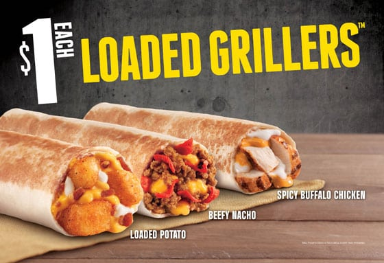 loaded griller tacobell