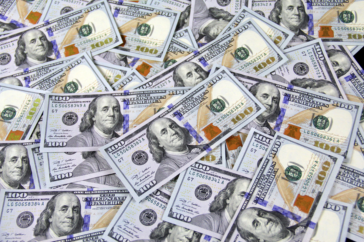 License Free Money Images 100 Bills One Hundred Dollar Bills
