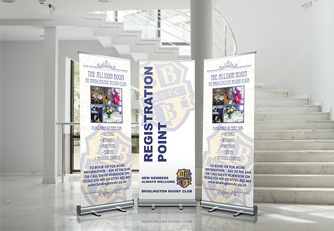 sprint pull up banner