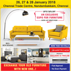 Exchange Old Sofa For New In Chennai Door Table Sharptronics Furniture Interior Home Alliances Expo Upto 50 Off