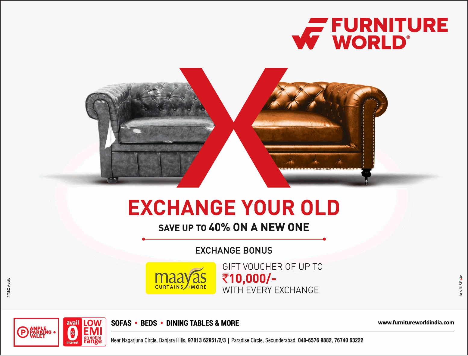 exchange old sofa for new in chennai american leather king sleeper furniture world your save upto 40 on a