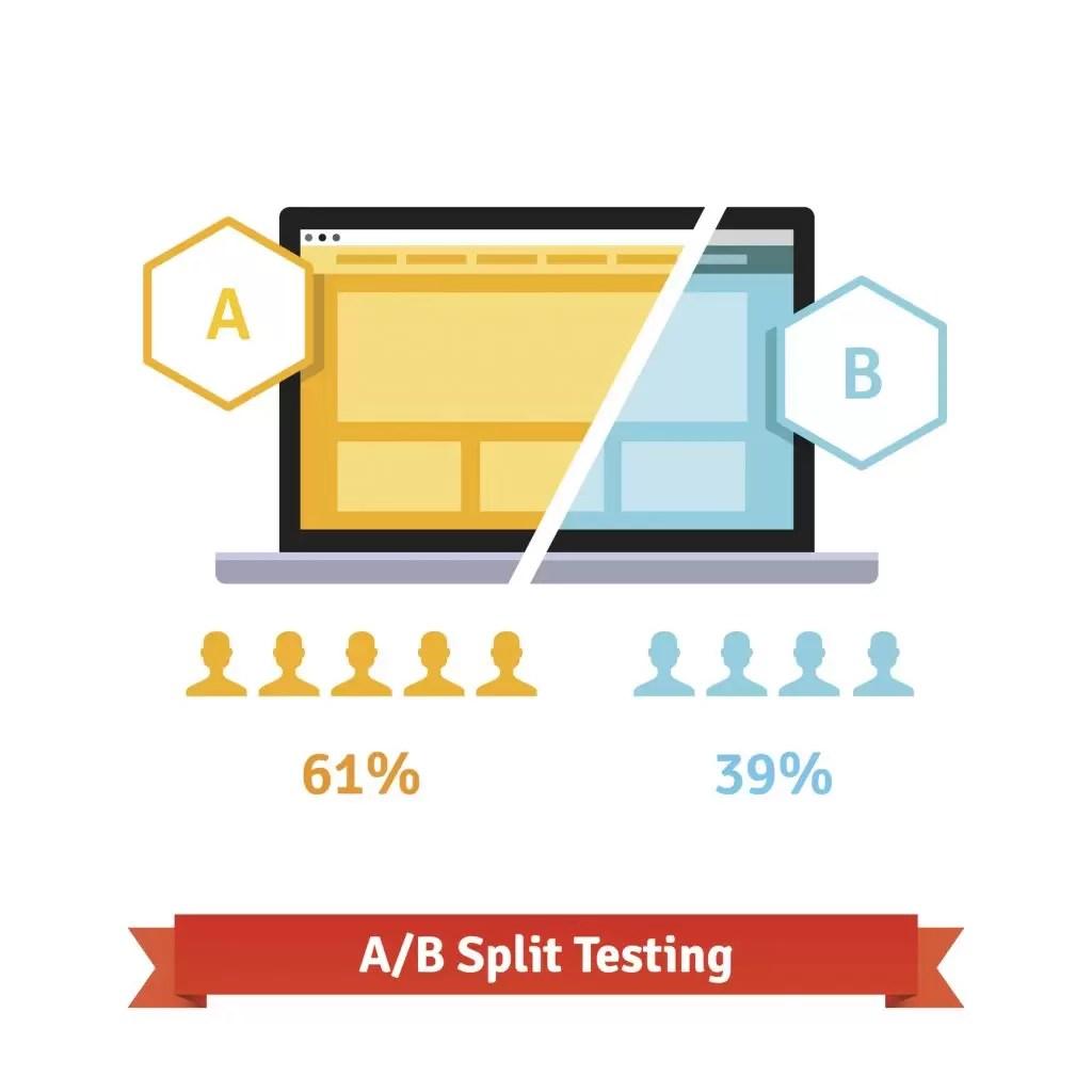 facebook makes split testing