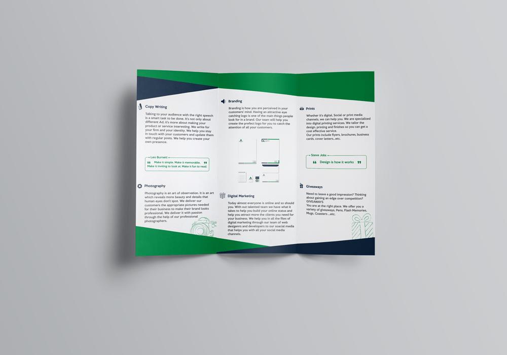 AdvertiseUp Agency (Brochure)