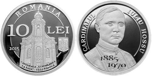 Emisiune numismatică dedicată aniversării a 130 de ani de la naşterea lui Iuliu Hossu