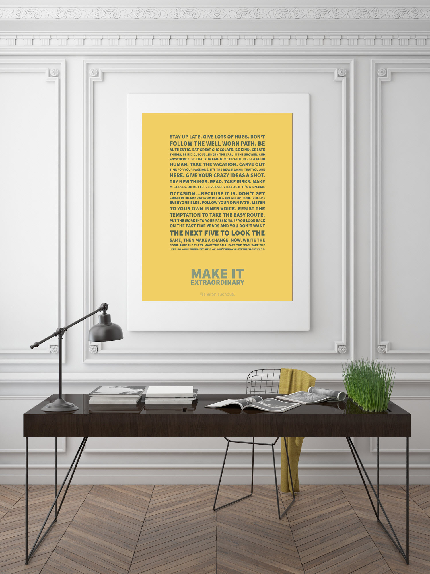 Make it Extraordinary - Printable Digital File - Advice for My Daughter