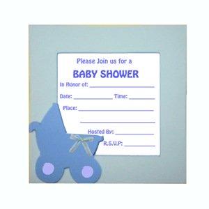 Handmade Card Ideas For Baby Showers