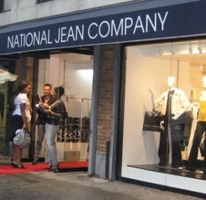 National Jean Company Debuts first location in NYC