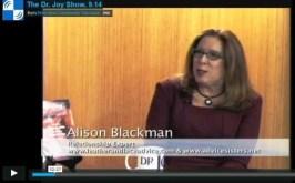 alison blackman on the dr. Joy Show