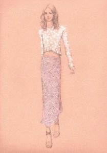 Rebecca Taylor Spring 2012 Fashion Week Sneak Peek