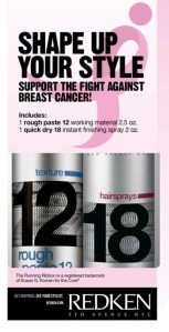 Redken Shapes Up Your Style for Breast Cancer Awareness Month