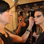YOU DO THE LOOK: Tina Turnbow Makes Cats Eyes Wild at Erickson Beamon @mbfw #YFW