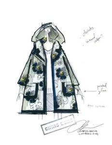 Chris Benz, Cynthia Rowley, and Badgley Mischka Design Raingear for London Fog, Fall 2013