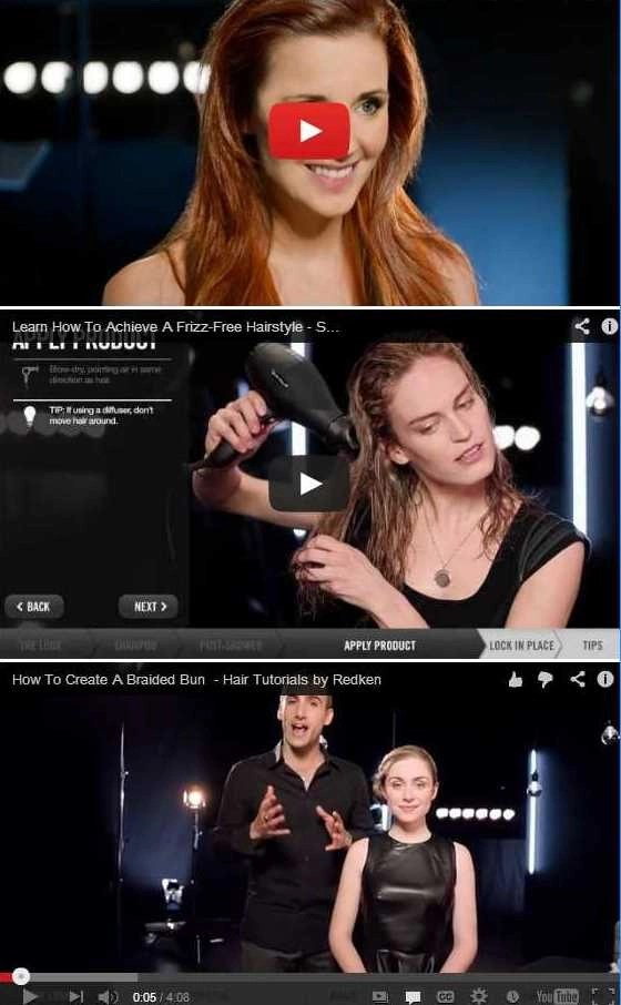 redken last three videos