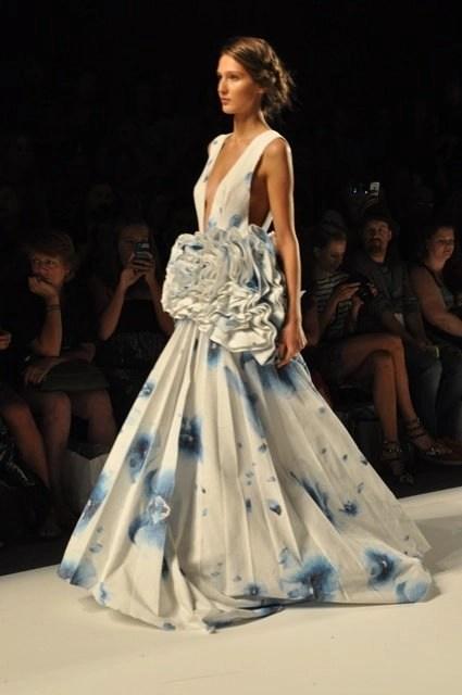 blue dress small