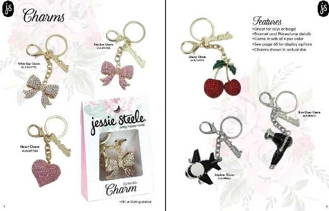 jessie steele keychains