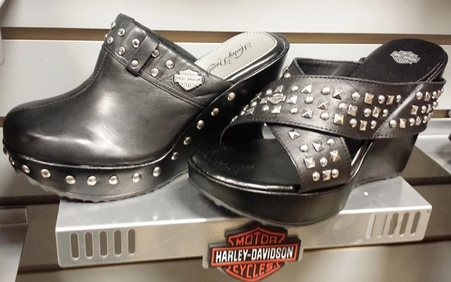 harley davison sandals and clogs