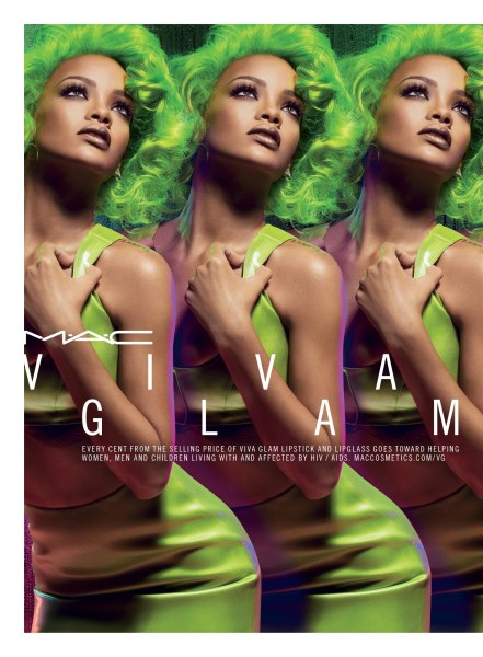 Fall's Frostiest — Will you be wearing Rihanna's new Viva Glam II for M-A-C-?