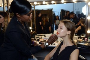 Because You Can't Get Enough Backstage Beauty: BACKSTAGE WITH NARS AT TANYA TAYLOR SPRING/SUMMER 2015